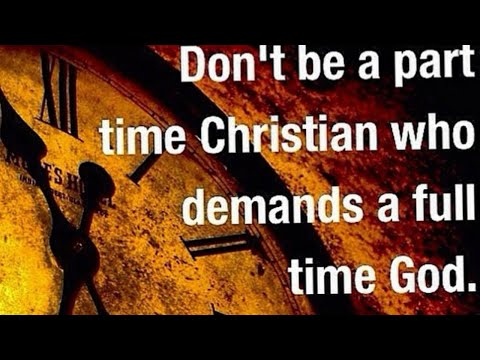 "DON'T BE A LUKEWARM ""CHRISTIAN""!🌡"