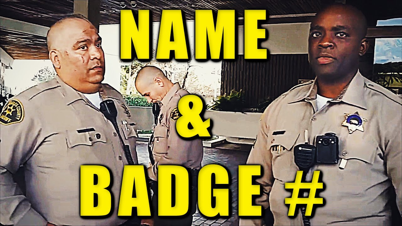 Clown-World Cops EGOS Squished: Name & Badge # ??? Parade | SGV News First Checks The Police