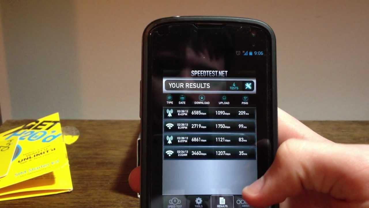 H2o Wireless Prepaid Review And Comparison On The Nexus 4 ...