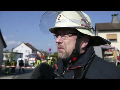 Tödlicher Unfall in Oberursel: PKW rast in Garten - O-Ton Einsatzleiter