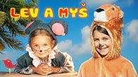 Bájka Lev a myš - Rozprávky Líšky a Vlka