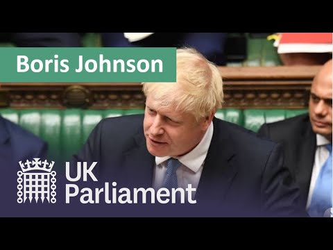Prime Minister Boris Johnson's first House of Commons Statem