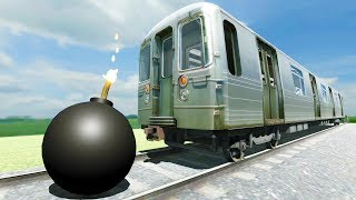 Speeding Train Gets Bombed - Disassembly 3D New Update Gameplay