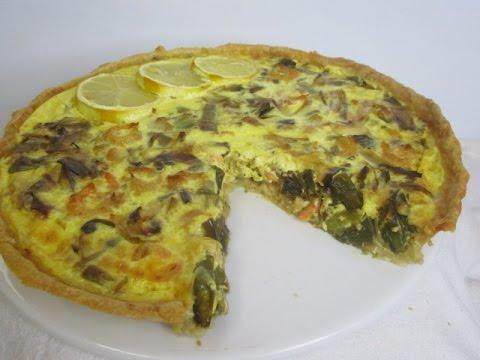 recette-de-la-tarte-aux-poireaux,-crevettes-et-citron---un-délice