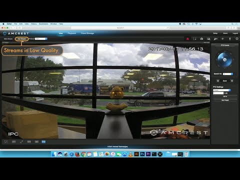 Amcrest WebUI - How to Troubleshoot Sub stream Mode to enable Live View  Screen