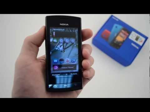 Nokia 500 - видеообзор ( нокиа 500 ) от магазина Video-shoper.ru