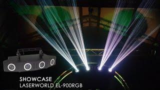 Laserworld EL-900RGB complete laser show system - showcase | Laserworld