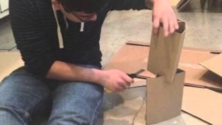 Design Challenge: The Lightest Cardboard Chair