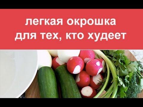 Окрошка на квасе - калорийность, состав, описание - www