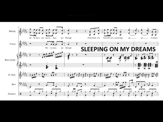 Sleeping On My Dreams- Jacob Collier (Transcription)
