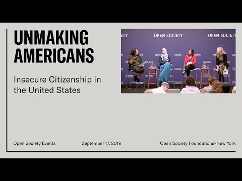 Unmaking Americans: Insecure Citizenship In The United States