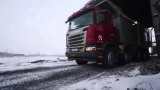 Обзор Карьерного самосвала Scania 10х4