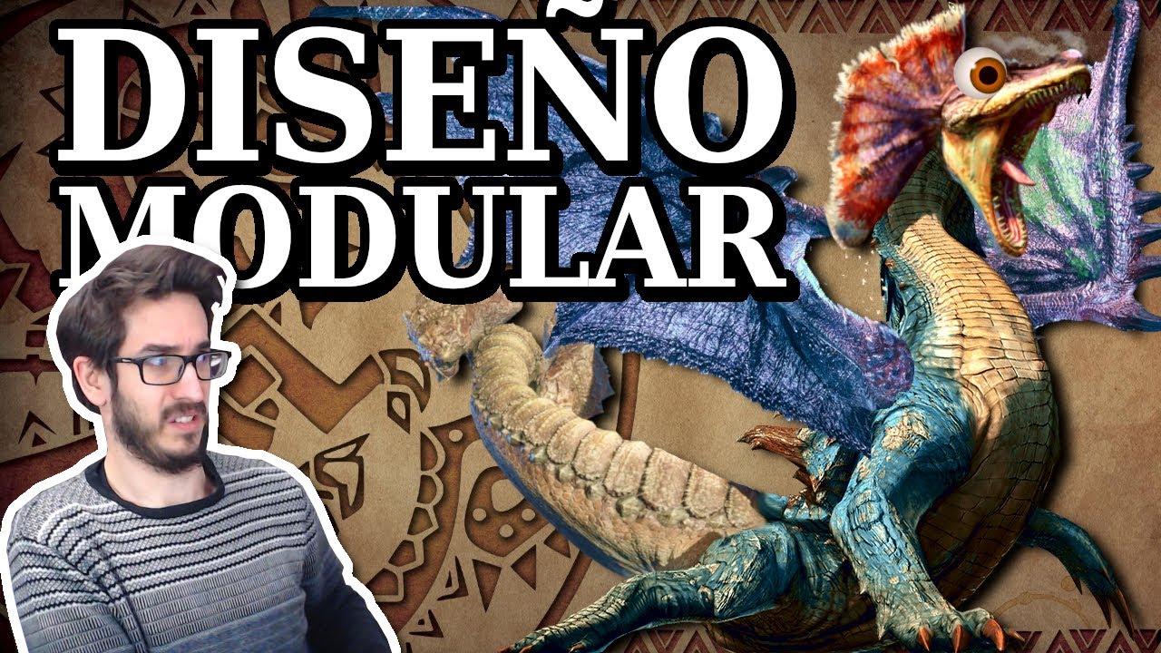 El DISEÑO MODULAR de la saga Monster Hunter - Leyendas & Videojuegos