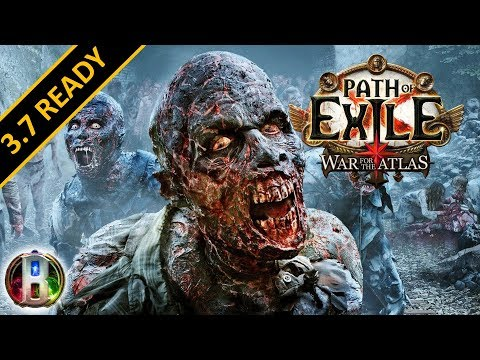 [3.5] Zombiemancer Build - Necromancer Witch - Path of Exile War For The Atlas - Betrayal