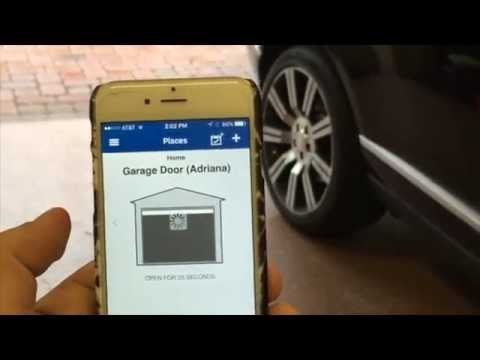 working doors in opener not app door iphone craftsman from with new garage jersey smartphone works