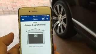 myq smartphone garage door opener