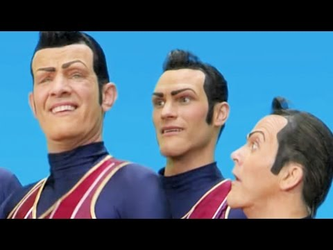 Lazy Town | 🎤 MUSIC VIDEO WE ARE NUMBER ONE & MORE MASH UP 🎤  Lazy Town Songs