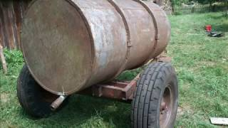 Изготовление бочки для воды(Изготовление бочки для воды или откачки канализации. Бочка 1,5 куба., 2017-02-05T18:15:29.000Z)