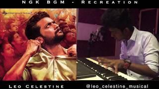NGK BGM Cover Ft. Leo Celestine I Yuvan Shankar Raja I Surya I Selvaraghavan I NGK Teaser