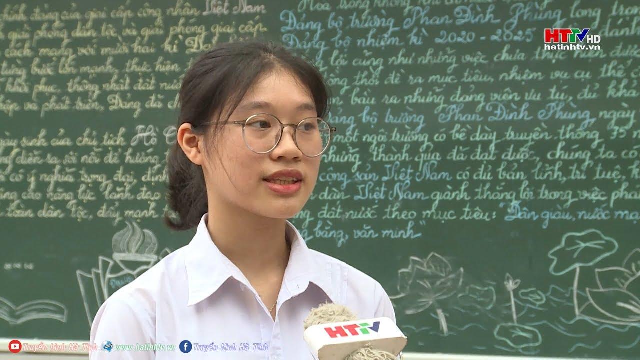 Nữ sinh Hà Tĩnh đoạt giải nhất cuộc thi Olympic tiếng Anh toàn quốc  | Truyền hình Hà Tĩnh