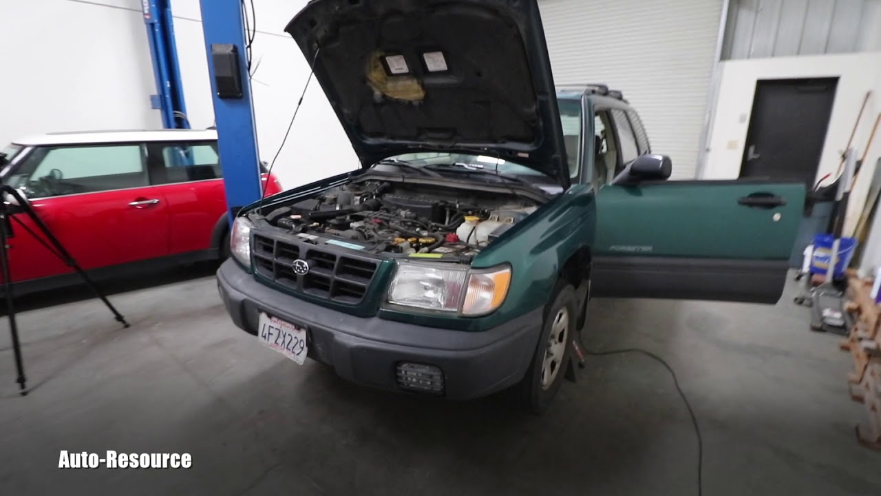 Subaru Check Engine Light Blinking Flashing and Fans Cycling On/Off