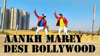 Aankh marey Bollywood dance Choreography By Ranjeet Awasthi