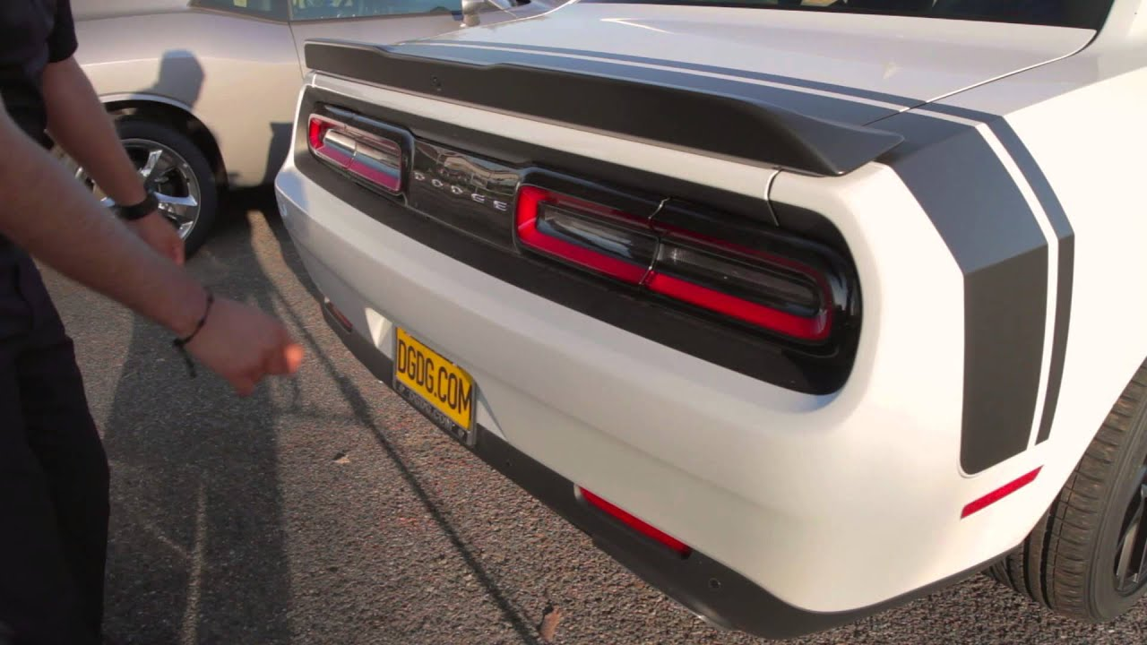 2015 Dodge Challenger Scat Pack Review Dgdgtv Youtube
