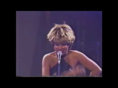 Donovan Marcelle performing with his idol, Tina Turner
