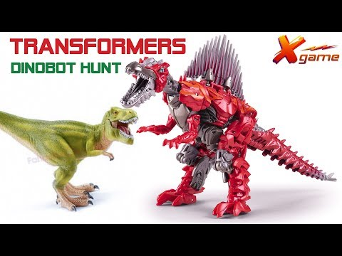 Transformers Dinobot Hunt - Game mini for kid - X game tv