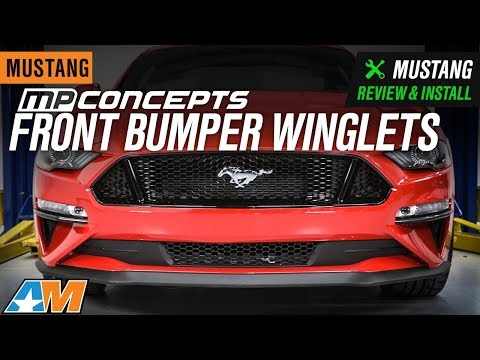 2018-2020 Mustang MP Concepts Front Bumper Winglets Review & Install