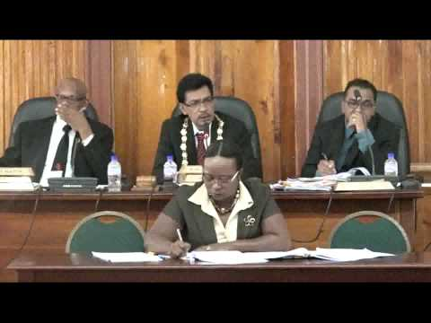 San Fernando City Corporation 16th Statutory Meeting - 24/02/2015 - Trinidad & Tobago