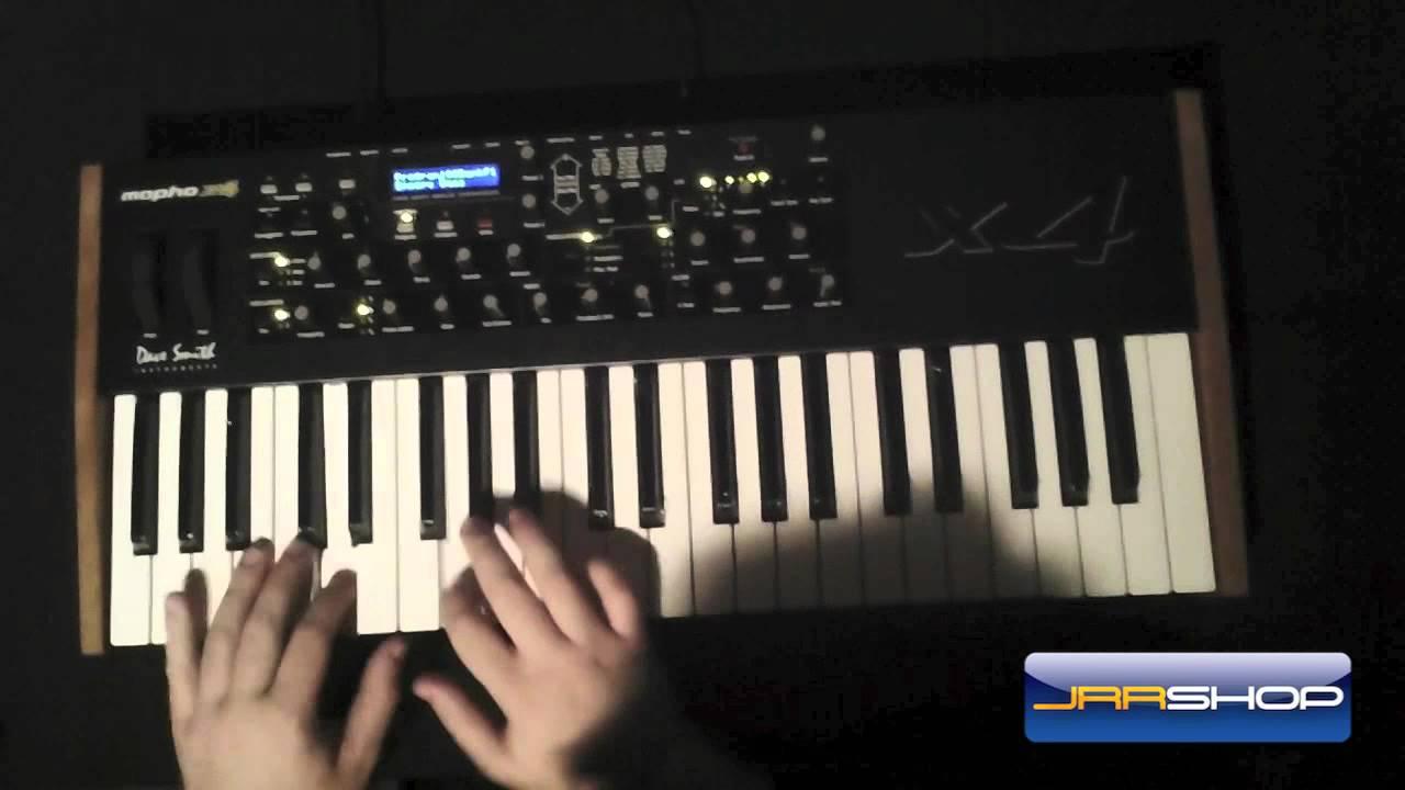 DAVE SMITH Mopho X 4 Keyboard Abdeckung von Viktory
