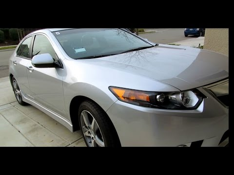 Video Tour of the 2012 Acura TSX Special Edition in Blue Silver Moon