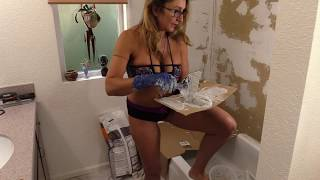 Washing ass Mature big bbw