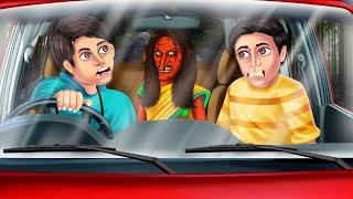 कार में चुड़ैल   Hindi Horror Story   Hindi Kahaniya   Stories in Hindi   Stories   Kahaniya   Kahani