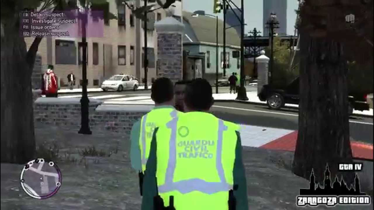 Cool Gta Iv Zaragoza Edition Guardia Civil Patrulla Camuflada Hd Youtube  With Guardia Civil Trafico Zaragoza.