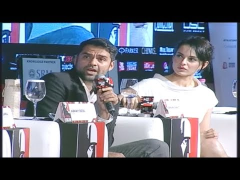 India Today Conclave: Exclusive Question & Answer With Abhay Deol And Kangna Ranaut