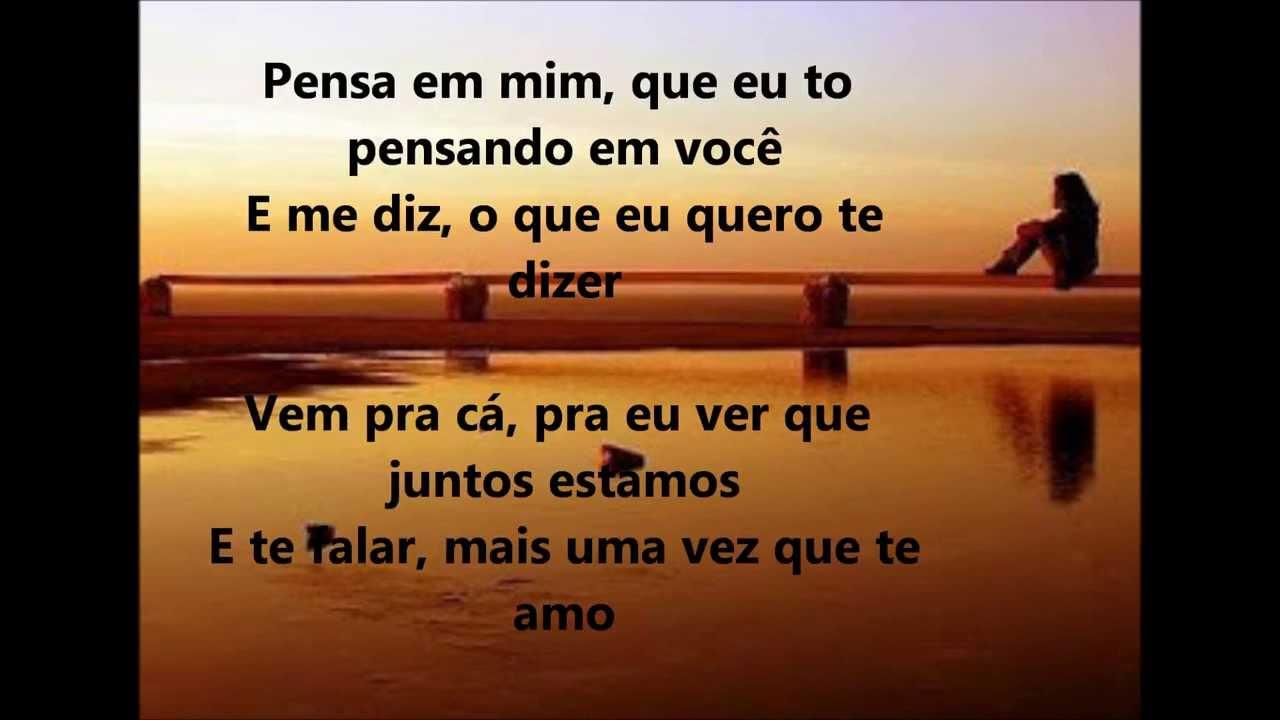 Jorge E Mateus Lucas E Luan Pensa Em Mim Letralyrics Youtube