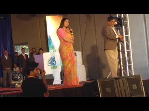 Ramya Full speech in CMRIT March 2017