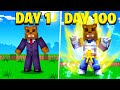 I Survived 100 Days In Minecraft Dragon Ball Z Here's What Happened