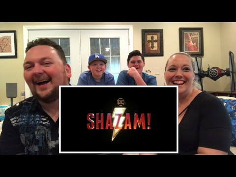 Poindexter Lounge: Shazam Movie Trailer Reaction Video!!!