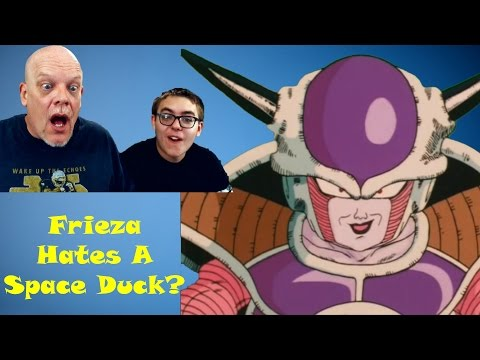 "REACTION TIME | ""DBZ Abridged 14"" – Frieza Hates Space Ducks?"