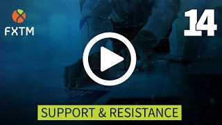 14 SUPPORT & RESISTANCE | FXTM Forex Education