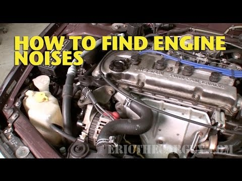 How To Find Engine Noises -EricTheCarGuy