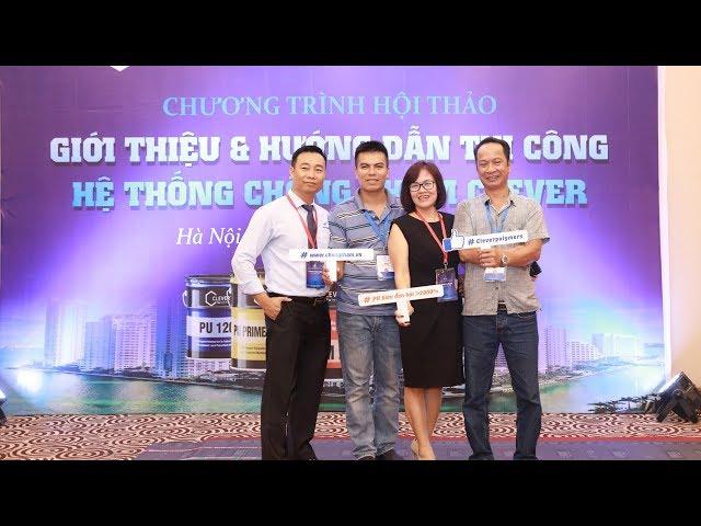 Hội thảo Clever công nghệ chống thấm  - Việt Thái