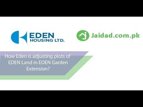 How EDEN Land is adjusting plots in EDEN Garden Extension located on Gajju Matta metro station lhr