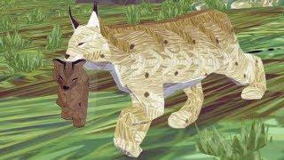 СИМУЛЯТОР ДИКОЙ КОШКИ #24 Мультик игра. Кид стал маленьким котенком рысью #ПУРУМЧАТА