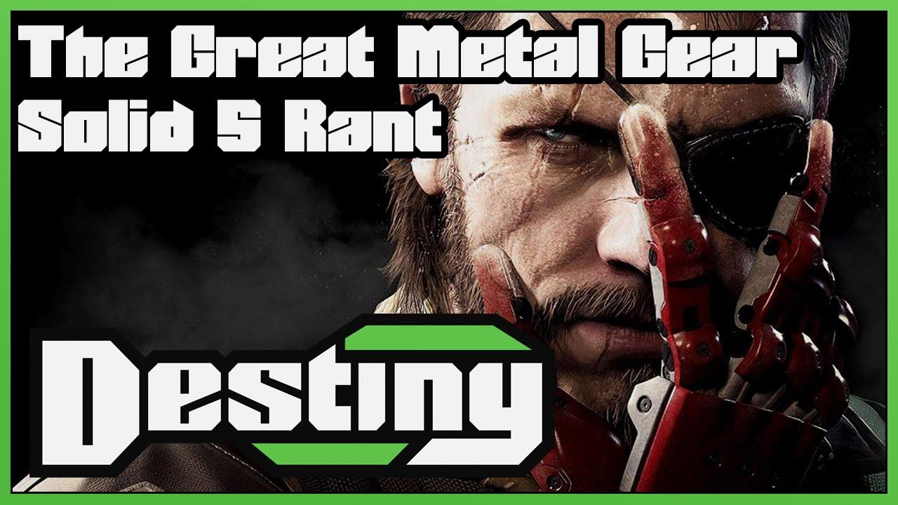 metal gear solid 5 game debate
