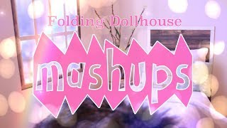 Mash Ups: Folding Dollhouse Crafts | In Depth Folding Dollhouse | Doll Sets | Haunted House & More