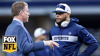 Cowboys may win Super Bowl if Dak Prescott's solid play continues, Troy Aikman says | FOX NFL